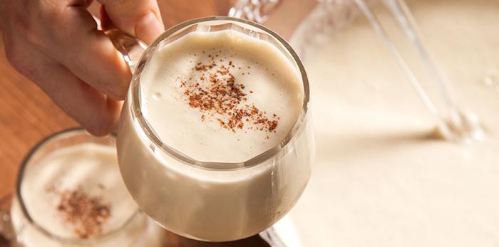 Delish Eggnog for the Adults!