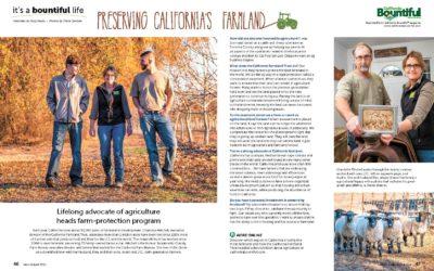 California Bountiful: It's a bountiful life: Preserving California's farmland