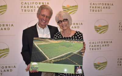 Jeani and John Ferrari recognized as California Farmland Trust's 2021 Vance Kennedy Award recipients
